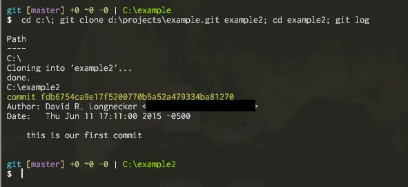 Creating Local Git Repositories